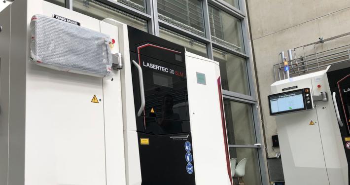 3D-Druck Maschinenpark Selective Laser Melting