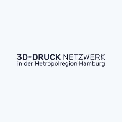 Logo 3D-Druck Netzwerk in der Metropolregion Hamburg