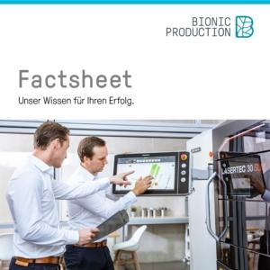 Laden Sie sich die Branchen Fact Sheets von Bionic Production herunter und erhalten Sie Informationen zu verschiedenen Industrien