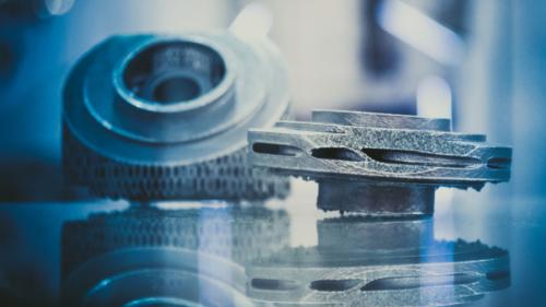 Mit der 3D-Druck Ersatzteilproduktion von Bionic Production sind Bauteile innerhalb kürzester Zeit verfügbar.