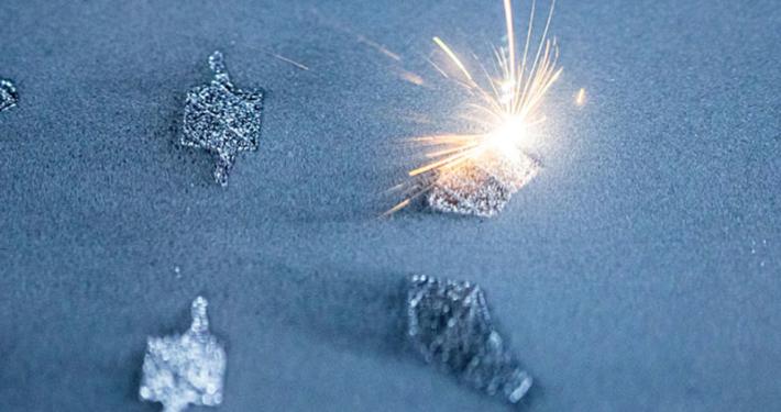 Additive Fertigung von Bauteilen und Komponenten mit Selective Laser Melting